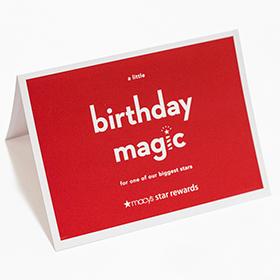 Macy's 2014 Birthday Mailer